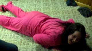 Sexy Dance Moves in Footy Pajamas