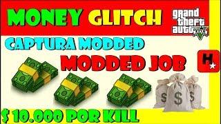 GTA V Money GLITCH Captura Modded GTA 5 Money Glitch Modded Job com link