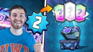 LEVEL 2 MASS SUPER MAGICAL CHEST OPENING!   Clash Royale   SUPER MAGICAL LEGENDARY HUNT