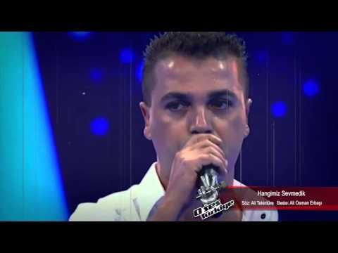 Ali Taşoğlu 'Hangimiz Sevmedik'   O Ses Türkiye 20 Ekim 2014