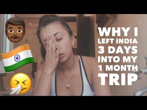 Why I left India Did I feel safe as a solo female traveler