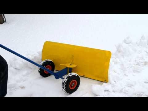 Самодельная электролопата для уборки снега своими руками 6