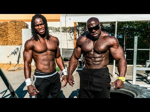 SUPERHUMAN BODYWEIGHT WORKOUT | Kali Muscle + Alseny
