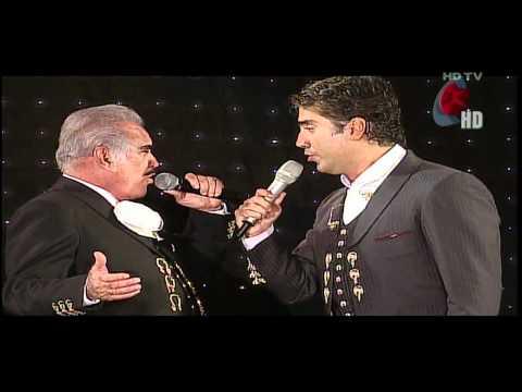 Alejandro & Vicente Fernandez Perdón en vivo HD