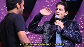 ChakDeYaara . SRK with DHONI  : www.shahrukhs.com