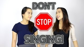 DON'T STOP SINGING!!   CaleonTwins