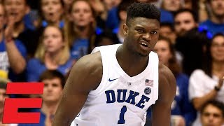 Top 10 Plays of Saturday in College Hoops including Zion's nice move | College Basketball Highlights