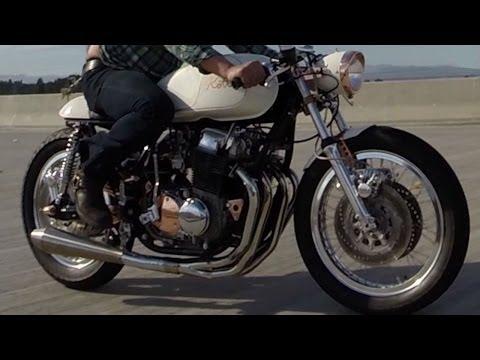 Kott Motorcycles 1971 Honda CB750 Custom Cafe Racer GoPro Hero 3+