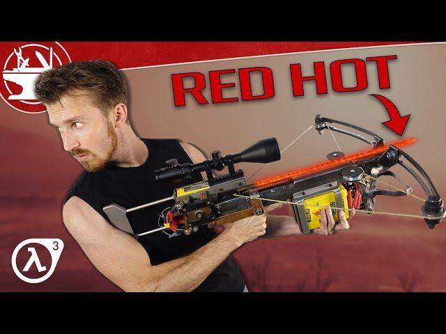 Machen Sie es real: RED HOT REBAR CROSSBOW (HALF-LIFE)