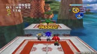 Sonic Heroes - [PS2] - Part 01 - [Opening / Team Sonic: Seaside Hill / Bonus 1]
