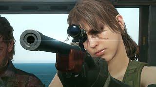 Metal Gear Solid 5 The Phantom Pain - Quiet Kills Jet Pilot