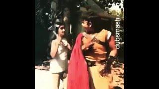 Video Dubsmash Baalveer (Dev Joshi) and Anushka Sen