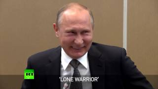 'Lone warrior': Putin jokes as Chinese President Xi faces Russian delegation solo