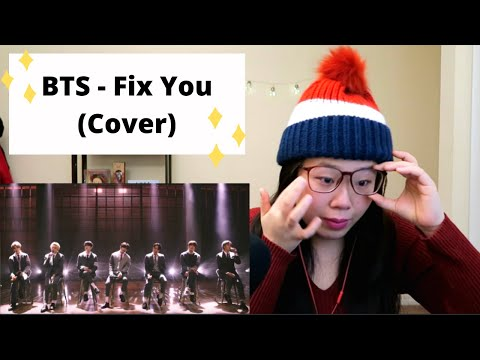 BTS Fix You Coldplay cover REACTION Ugly crying like there is no tomorrow 💜