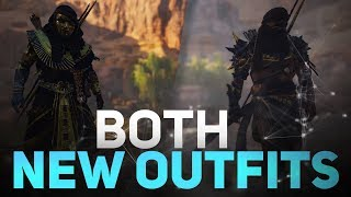 Assassin's Creed Origins: Curse of the Pharaohs DLC - Both New Outfits & How to Get Them