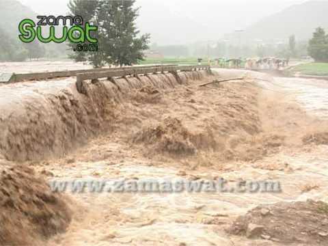 Flood in Swat Streams