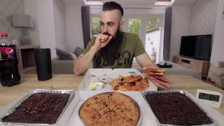 BRIAN SHAW'S 16,000 CALORIE STRONG MAN CHEAT MEAL PIZZA PARTY | BeardMeatsFood
