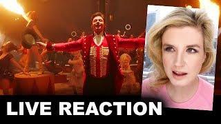 The Greatest Showman Trailer 2 REACTION