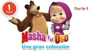 Masha y el Oso - Una gran colección de dibujos animados (Parte 1) 60 minutos para niños en Español