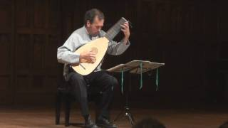 Ciaccona in E flat major by Silvius Leopold Weiss, performed by Nigel North