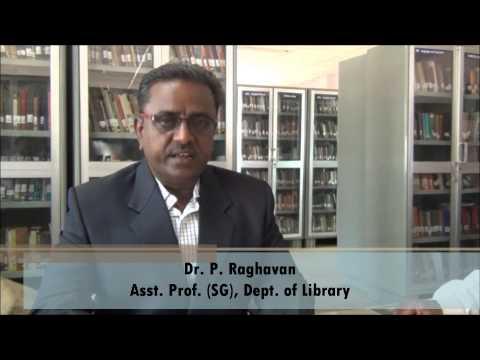 Prof. Raghavan, Librarian, National College (Autonomous), Tiruchirapalli, Tamil Nadu, India
