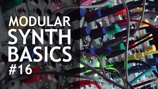 Modular Synth Basics #16: Waveforms on the Oscilloscope