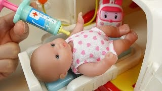 Ambulance baby doll doctor Pororo Robocar Poli car toys