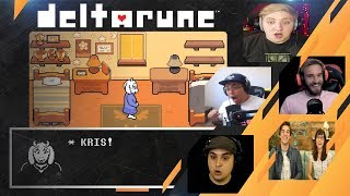Gamers Reactions to the CHARACTER DELETION / UNDERTALE 2 | Deltarune