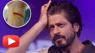 Shah Rukh Khan CRAZY Fan CUTS WRIST! | SRK REACTS!