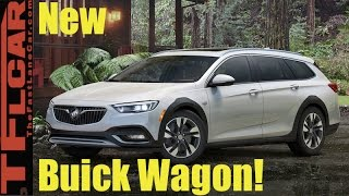 2018 Buick Regal Sportback and TourX Wagon: Everything You Ever Wanted to Know