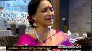 Bombay Jayashri singing Vaseegara on Asia Net