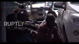 Italy: Refugees detained crossing Roja River into France near Ventimiglia