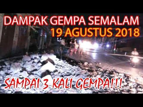 Xxx Mp4 MENCEKAM PASCA GEMPA BESAR 7 0 SR TADI MALAM DI LOMBOK BALI 19 Agustus 2018 Bali Today 3gp Sex