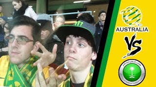 OMG!!!! Australia vs Saudi Arabia World Cup Qualifiers