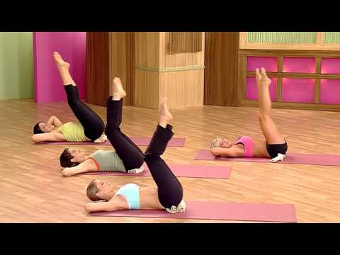 Denise Austin Shrink Your Fat Zones Pilates Clip