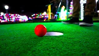 Mini Golf - Lets Play For Real - CHRISTMAS COURSE!