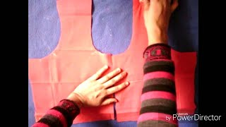 Easy blouse cutting ( Hindi)