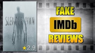 LAUGHABLY Fake IMDb Reviews - Slender Man