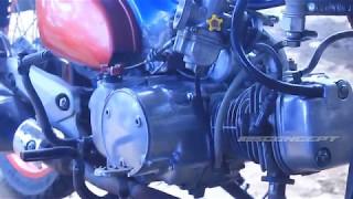 Modifikasi c70 Kanibal Mesin revo + Air Cooler