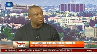 Buhari's Declaration For Re-election Came As A Relief - Festus Keyamo Pt.1 |Sunrise Daily|