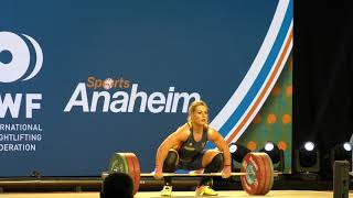 Lidia Valentin, 140 kg Clean & Jerk (Gold medal)