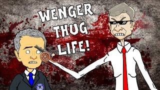 Wenger - BAD BLOOD PARODY! Chelsea vs Arsenal 2-0 Diego Costa Gabriel Red Card (Highlights 2015)
