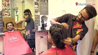 Youngsters show inked finger and avail 15% discount on haircut | Mumbai Live