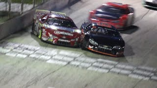 Final 5 Laps/Amazing Finish | Slinger SuperSpeedway Super Late Models Feature Race (6/25/17)