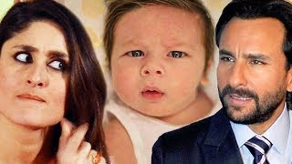Baby Taimur Makes Kareena & Saif FIGHT - SHOCKING
