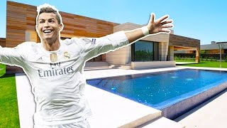 Cristiano Ronaldo's House In Madrid (Inside Tour) | 2017 NEW
