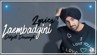 Laembadgini | Lyrics | Diljit Dosanjh | Latest Punjabi Song 2016 | Syco TM