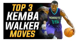 How to: Top 3 Kemba Walker Basketball Moves (ANKLE BREAKER)