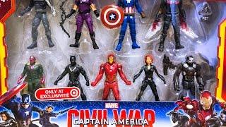 Marvel Captain America Civil War Miniverse