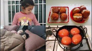 Delicious Jam Bun & Butter Bun - Mom Routine - YUMMY TUMMY VLOG